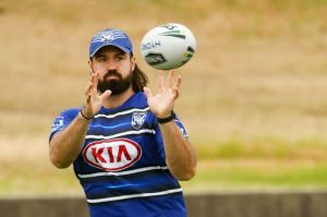 New era: Bulldogs recruit Aaron Woods.