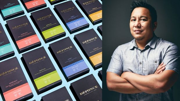 Eris Eslao, a former Apple production manager, has started a high-end marijuana chocolate brand, Defonce, that was ...