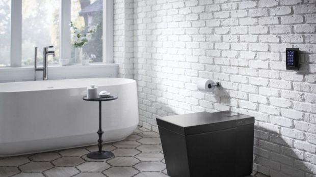 The Kohler Numi. A connected toilet.