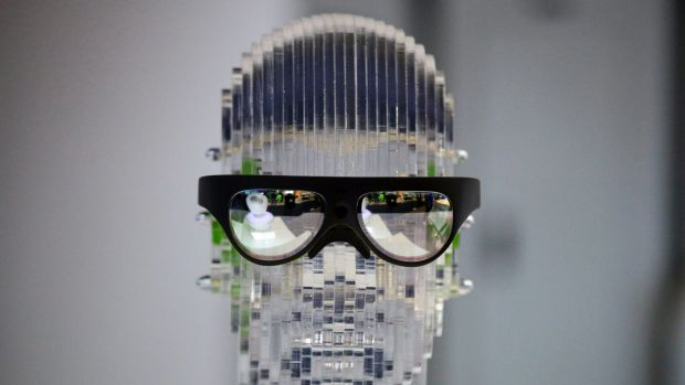 Rokid Glass, augmented reality glasses.