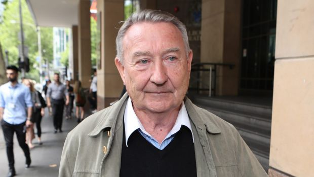 Former priest Peter Waters attends court this week.