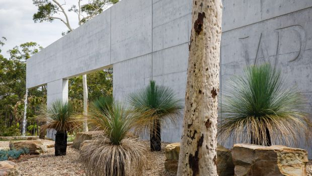 Concrete is used extensively around Terry Snow's Willinga Park.