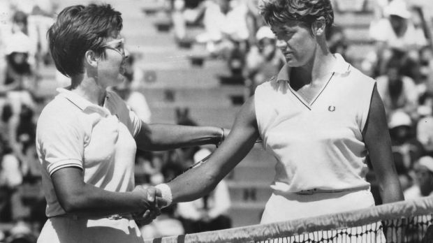 Billie Jean King (left) said she had hoped Margaret Court (right) would attend the Australian Open this year so the pair ...