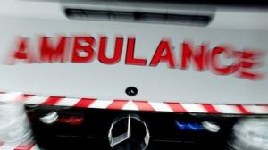 Eight people were taken to hospital after the Christmas morning crash.