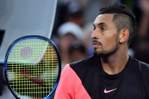 "Nick Kyrgios is ""feeling good"" ahead of his second-round clash."