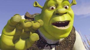 Scene from the animated film Shrek.