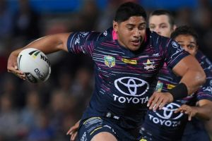 Power unit: Jason Taumalolo is happy to hand the reins back to veteran Matt Scott.