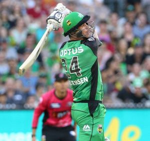 Kevin Pietersen couldn't manage double figures for the Stars.