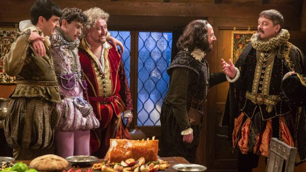 <i>Upstart Crow</i> on ABC is a new comedy about the Bard by Ben Elton.