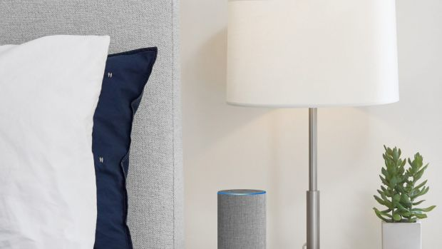 The standard Amazon Echo, which will arrive alongside the smaller Dot and larger Plus.