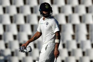 """We have not come here to play the way we have done"": Virat Kohli.;"