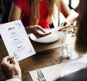 Descriptions of menu items and position on the menu influence ordering behaviours.