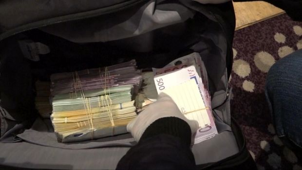 A large amount of cash was also seized in the arrests.