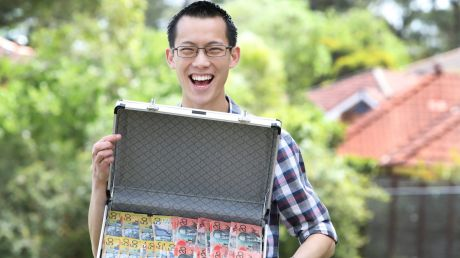 Maths teacher Eddie Woo is in the new TV series Teenage Boss, which teaches young people how to manage money.