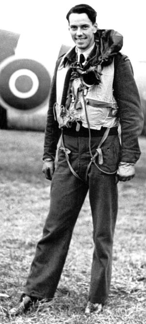 Peter Ilbery during service in the RAAF.