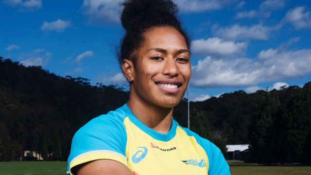 Welcome back: Ellia Green is all but confirmed to make her playing return for Australia at the Sydney Sevens next weekend.