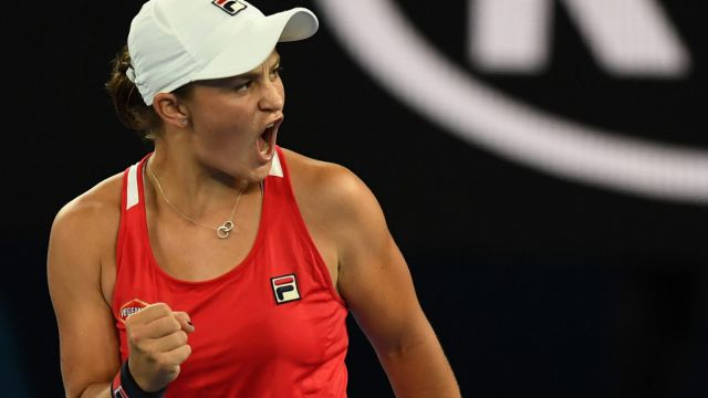 Ashleigh Barty is proving herself a fierce opponent.