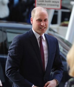 Britain's Prince William visits the Evelina London Children's Hospital, in London on Thursday, Jan. 18, 2018, to launch ...