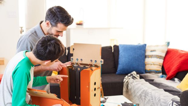 The toys come flat-packed and must be constructed before you can play. The builds range from a few minutes to several ...