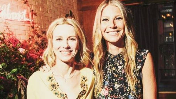 Naomi Watts and Gwyneth Paltrow consider each other friends.