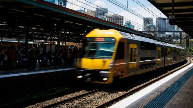 There are major delays on most train lines running through Central Station after a power issue on Thursday morning.