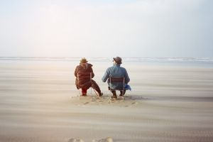 Agnes Varda and her collaborator Jean-Paul Beaujon in Faces Places.
