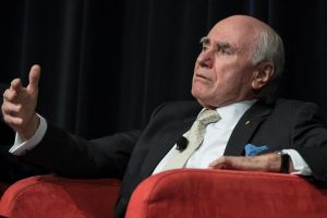 John Howard originally scoffed at the idea that his gun laws could drive a new political force, but now concedes that ...