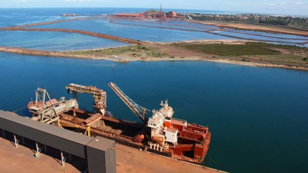 Arrium's Whyalla steelworks, April 2016.