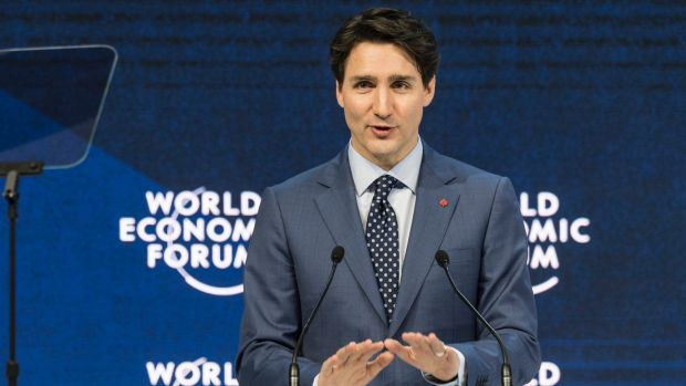 Justin Trudeau corrected a woman for saying mankind: 'We'd like to say peoplekind'