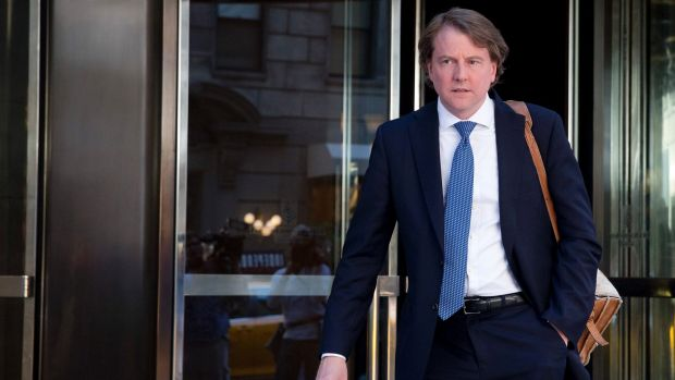 White House counsel Donald McGahn was told about domestic violence accusations against Rob Porter more than a year ago.