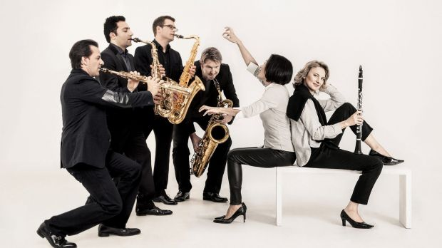 Sabine Meyer and the Alliage Quintet.