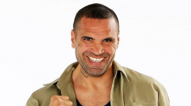 Anthony Mundine is the first intruder on I'm A Celebrity Get Me Out Of Here.