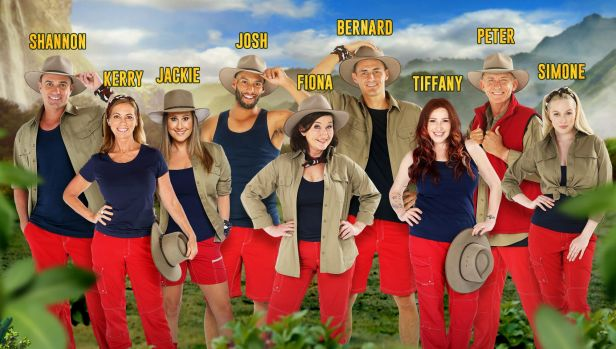 The full cast of I'm A Celebrity Get Me Out Of Here 2018.