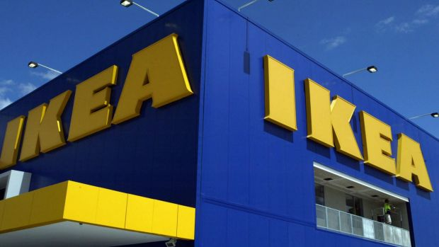 The now-iconic IKEA brand.