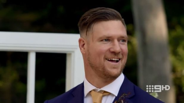 Dean upon seeing Tracey walk down the aisle on MAFS.