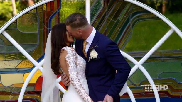 There was plenty of kissing on MAFS.