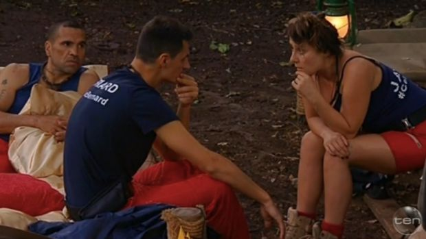 Bernard Tomic with fellow cast members on <i>I'm a Celebrity ... Get Me Out of Here</i>.