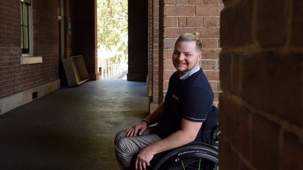 James Stanley, 25, was diagnosed with complete spinal injury, but brain scans show that is not the case.