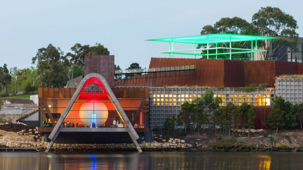 MONA, the museum credited with driving Hobart's cultural renaissance.