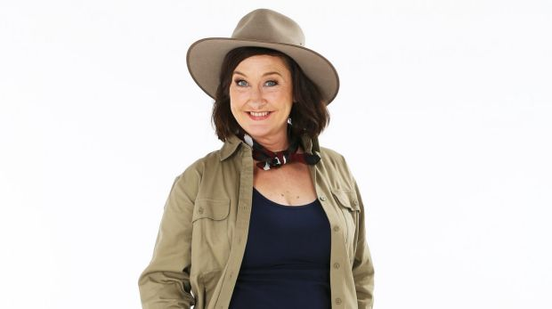 Comedian Fiona O'Loughlin in I'm A Celebrity Get Me Out Of Here!