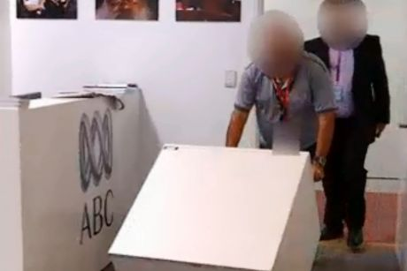 Intelligence officers from ASIO reclaimed the documents from the ABC.