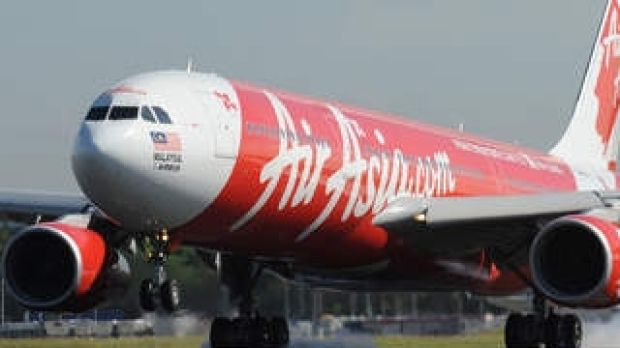 An aircraft from Air Asia X.