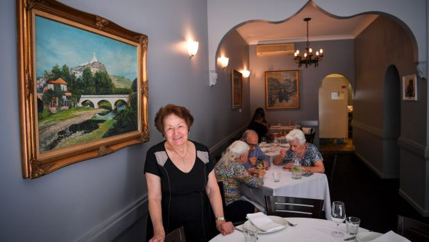 Abla Amad has ruled the kitchen, and dining room, at her namesake for four decades.