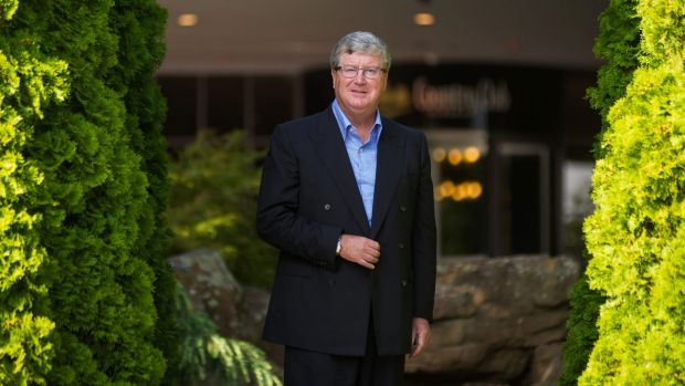 Federal Group CEO Greg Farrell in Tasmania in March, 2017.