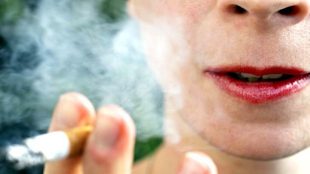 More than 100 Queenslanders have been fined since laws were introduced banning smoking near bus stops, taxi ranks and ...
