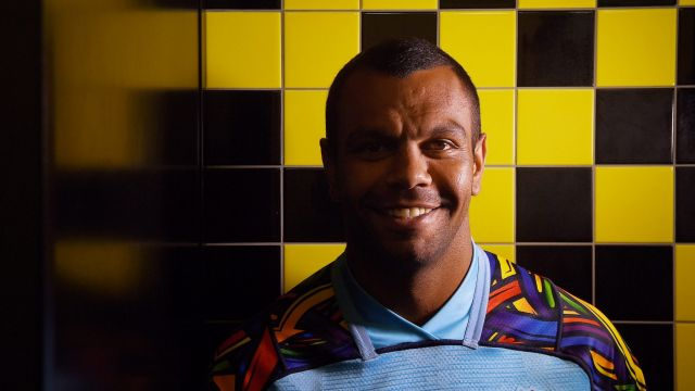 Back home: Kurtley Beale says the Waratahs have the skills to shock other Super Rugby teams in 2018.