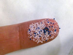 Manufacturers and importers are phasing out microbeads from beauty products.