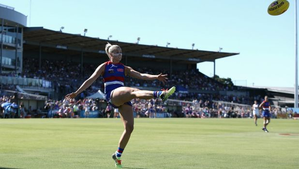 Top Dog: captain Katie Brennan looks set to return after missing three matches with injury.