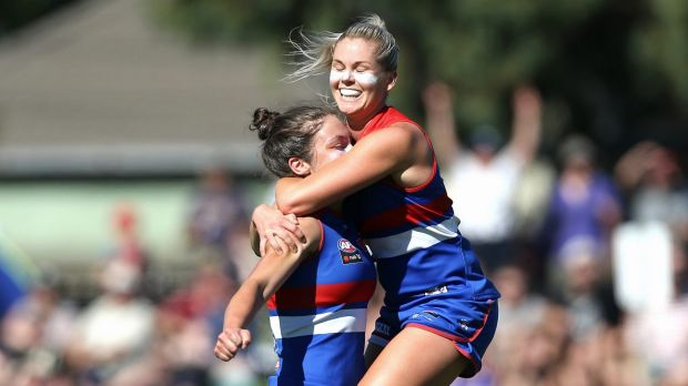 AFLW: Katie Brennan stars as Western Bulldogs notch first ...