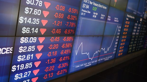 Australian shares have had a torrid week following big sell-offs on Wall Street.